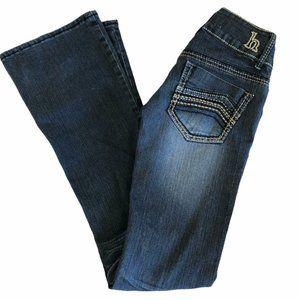 Hydraulic Jeans Juniors 0 Distressed Low Rise Slim